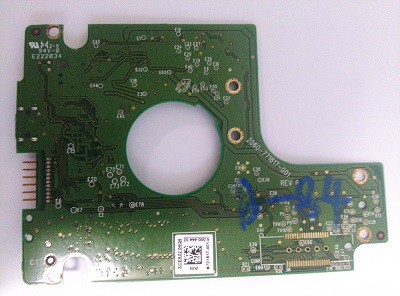 Western Digital USB PCB 2060-771817-001 REV A